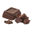 Chocolate pieces icon